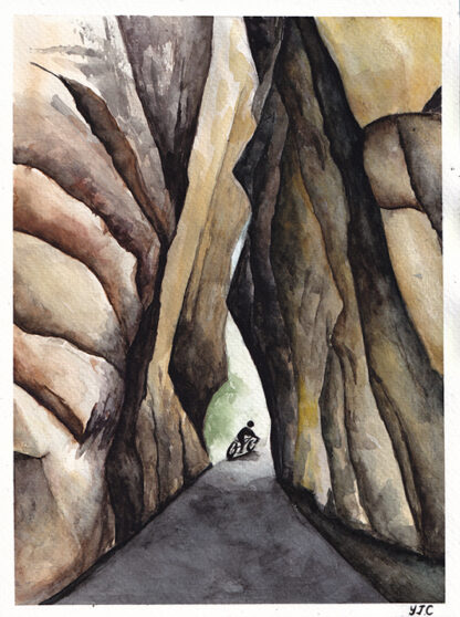 Cycling through rocks