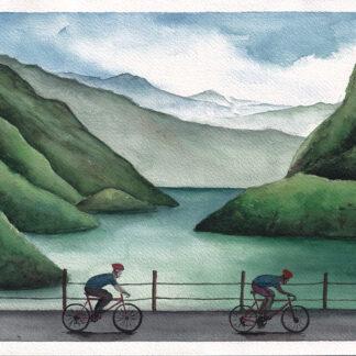 Sun Moon Lake Cycling